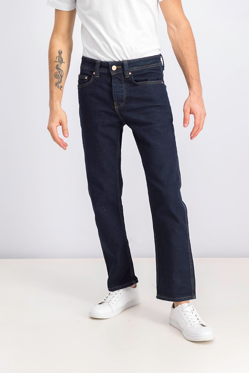 Men's Straight Fit Jeans, Blue
