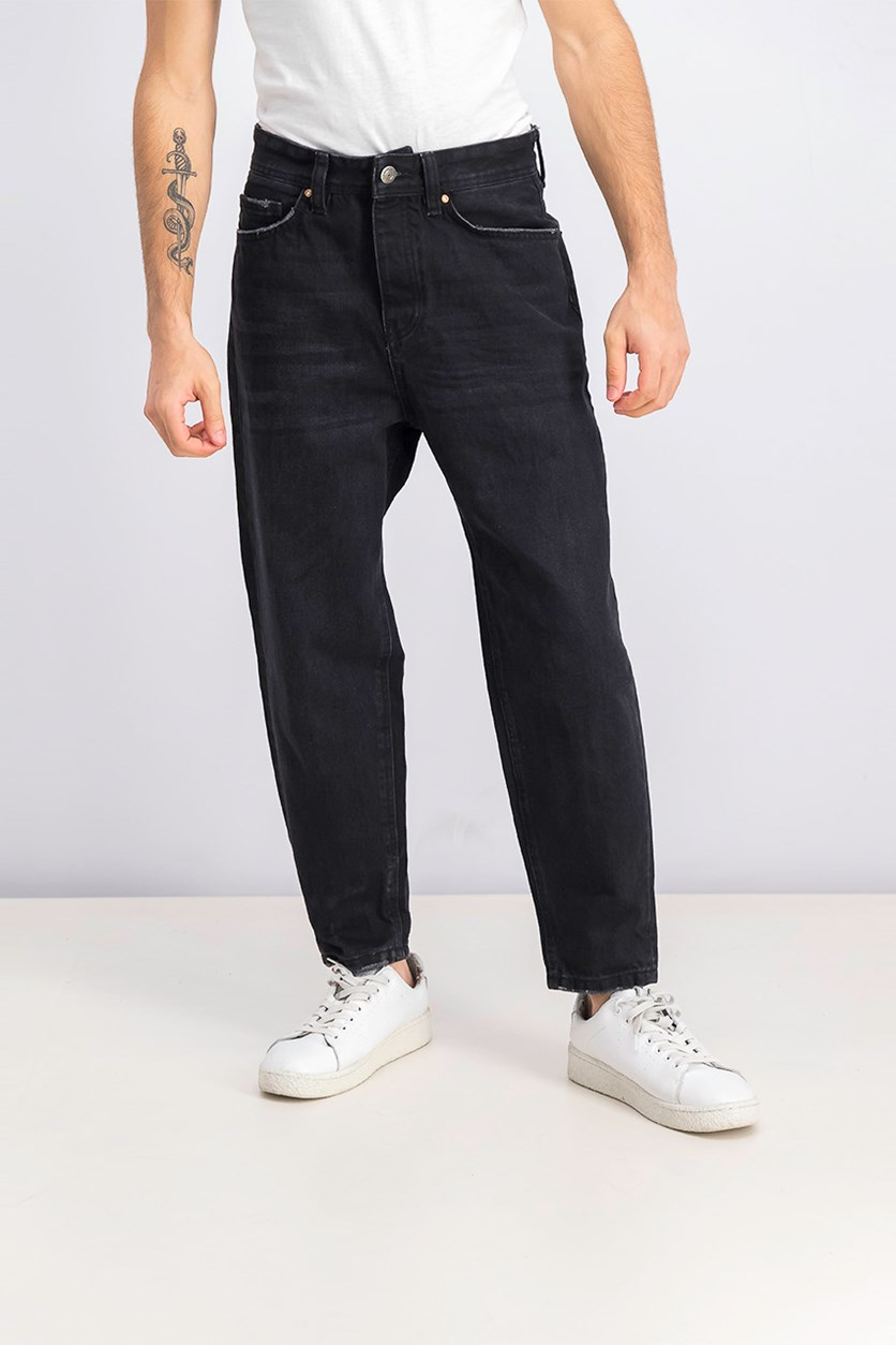 Men's Loose Fit Jeans, Black
