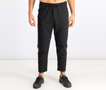 Men's Straight Fit Trousers, Black