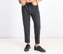 Men's Straight Fit Trousers, Grey