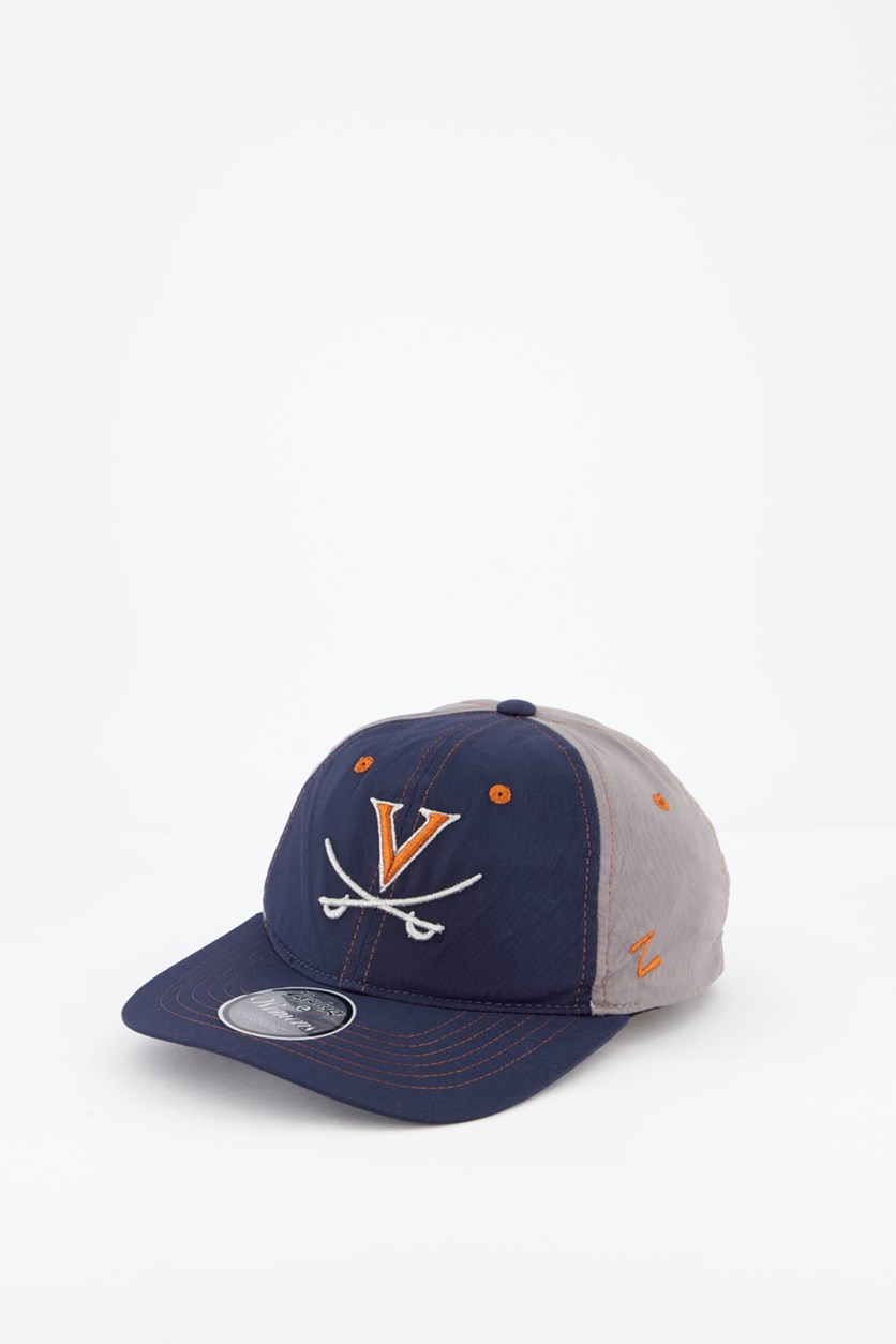 Women's Virgina Feisty Cap, Navy/Grey