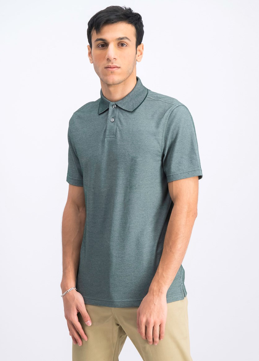 Men's Supima Blend Cotton Polo, Pine Grove