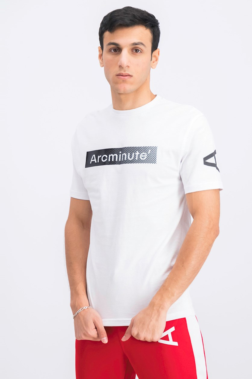 Men's Graphic Print T-Shirt, White
