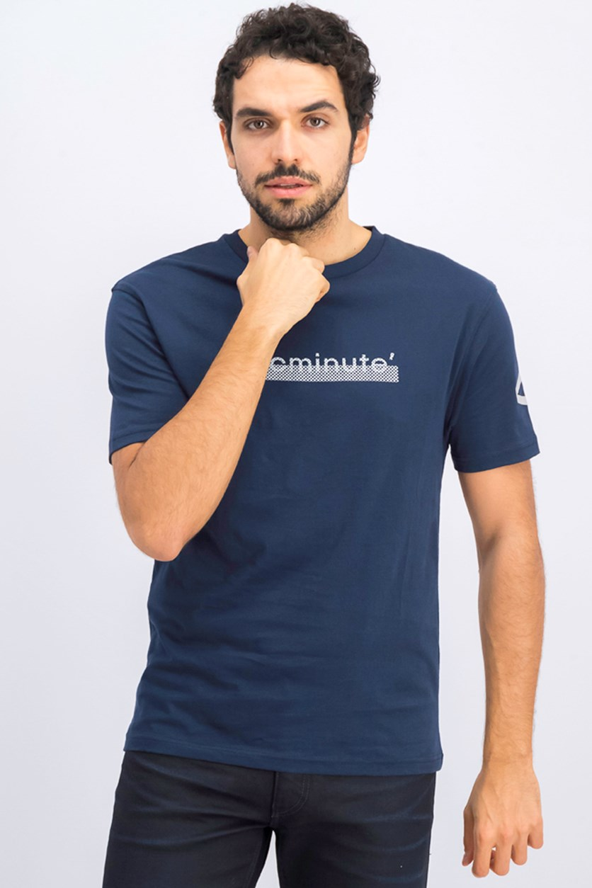 Men's Graphic Tops, Navy