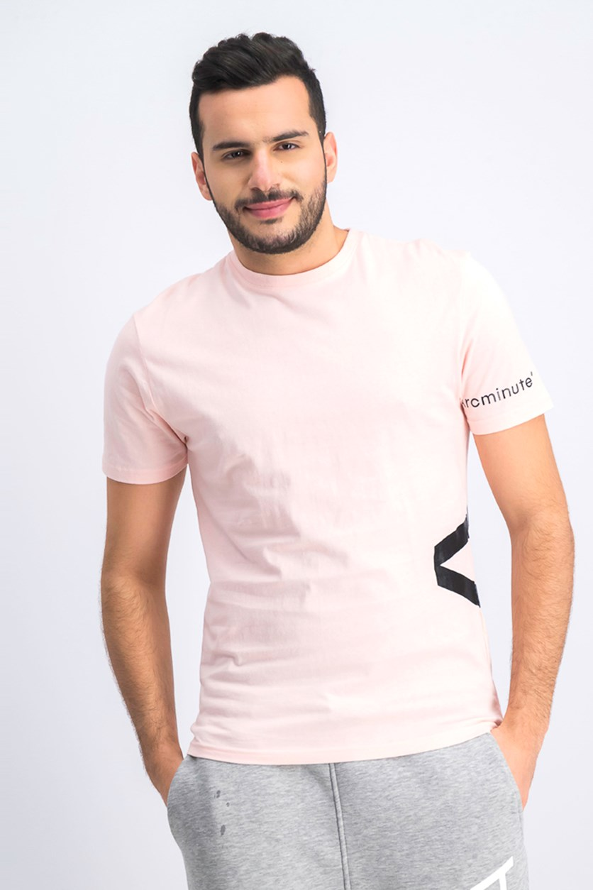 Men's Graphic T-Shirt, Pink