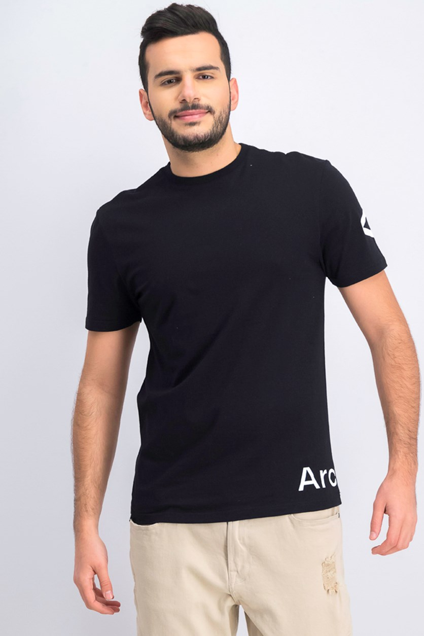 Men's Graphic Logo T-Shirt, Black