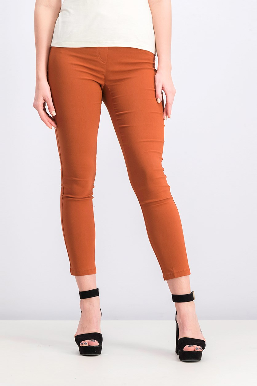 Tech Stretch Slim Pants, Terra Cotta