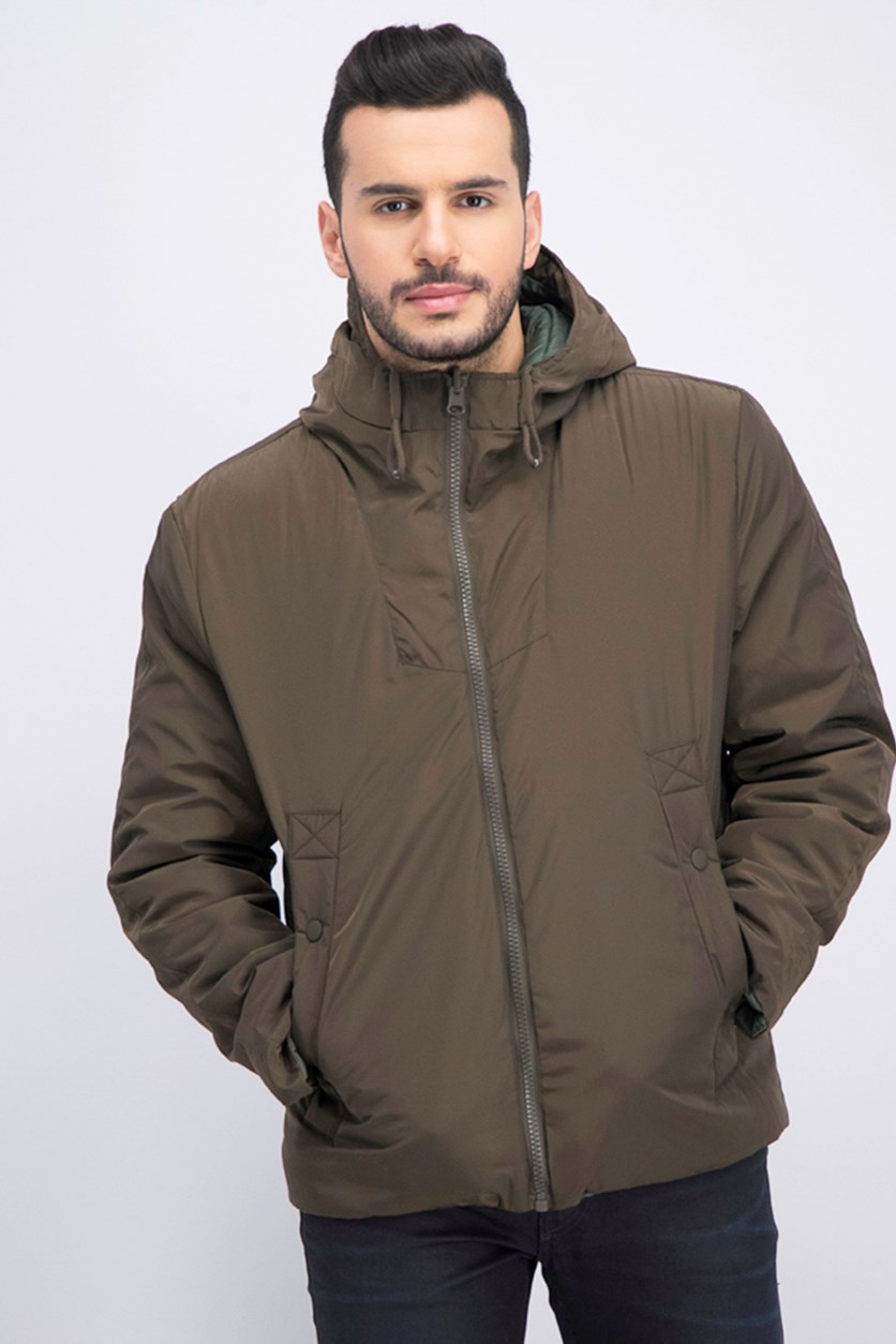 Men's Crosby Reversible Jacket, Olive/Green