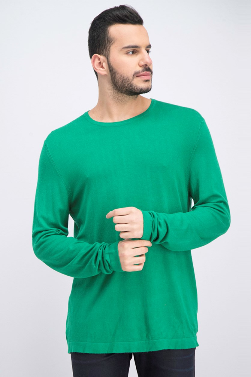 Men's Pullover Sweatshirt, Green