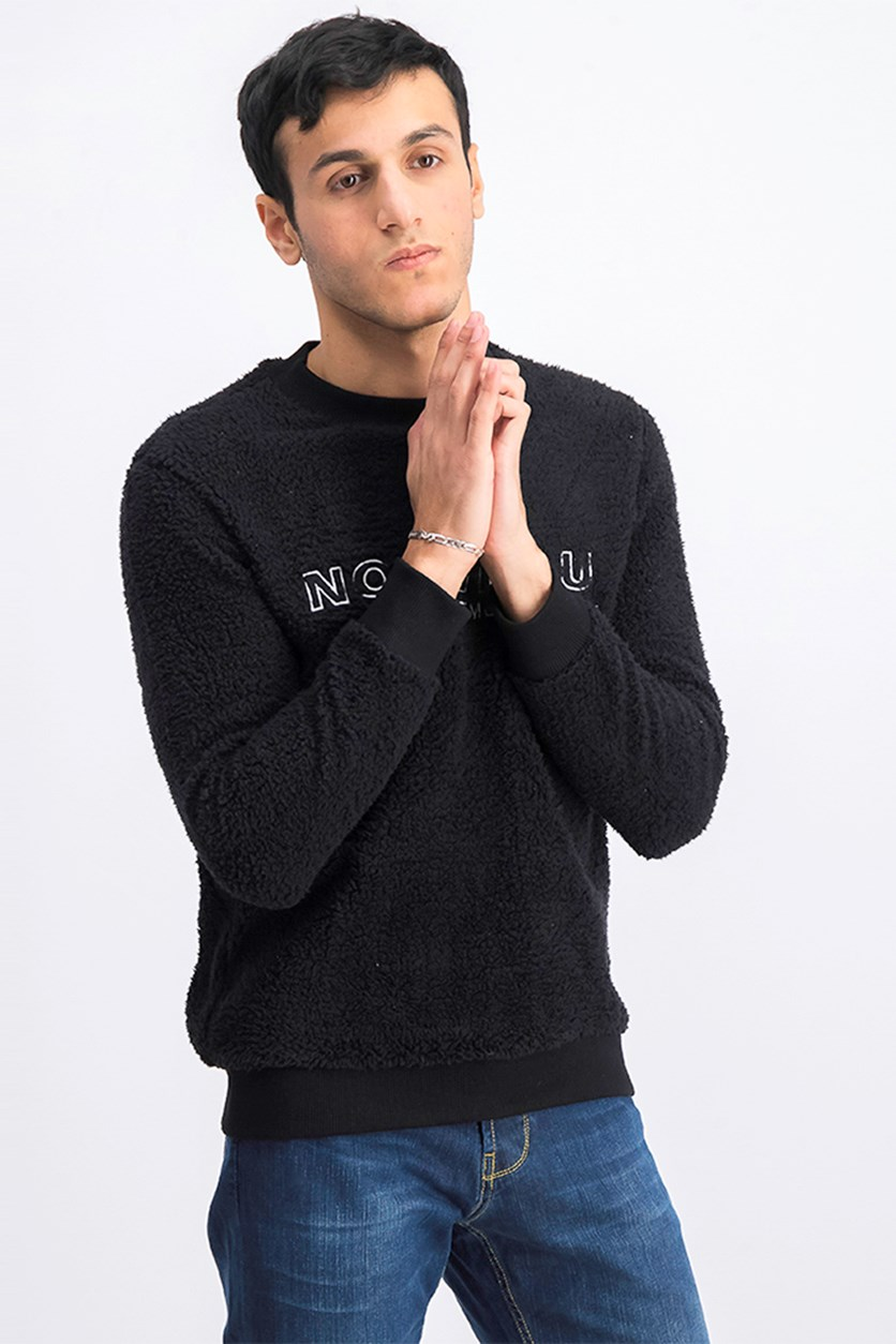 Men's Pullover Sweater, Black