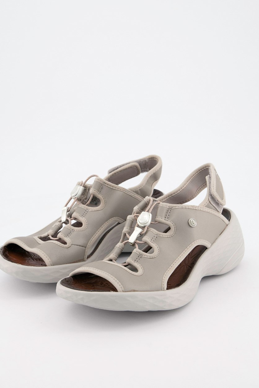 Juicy Wedge Sandals, Silver