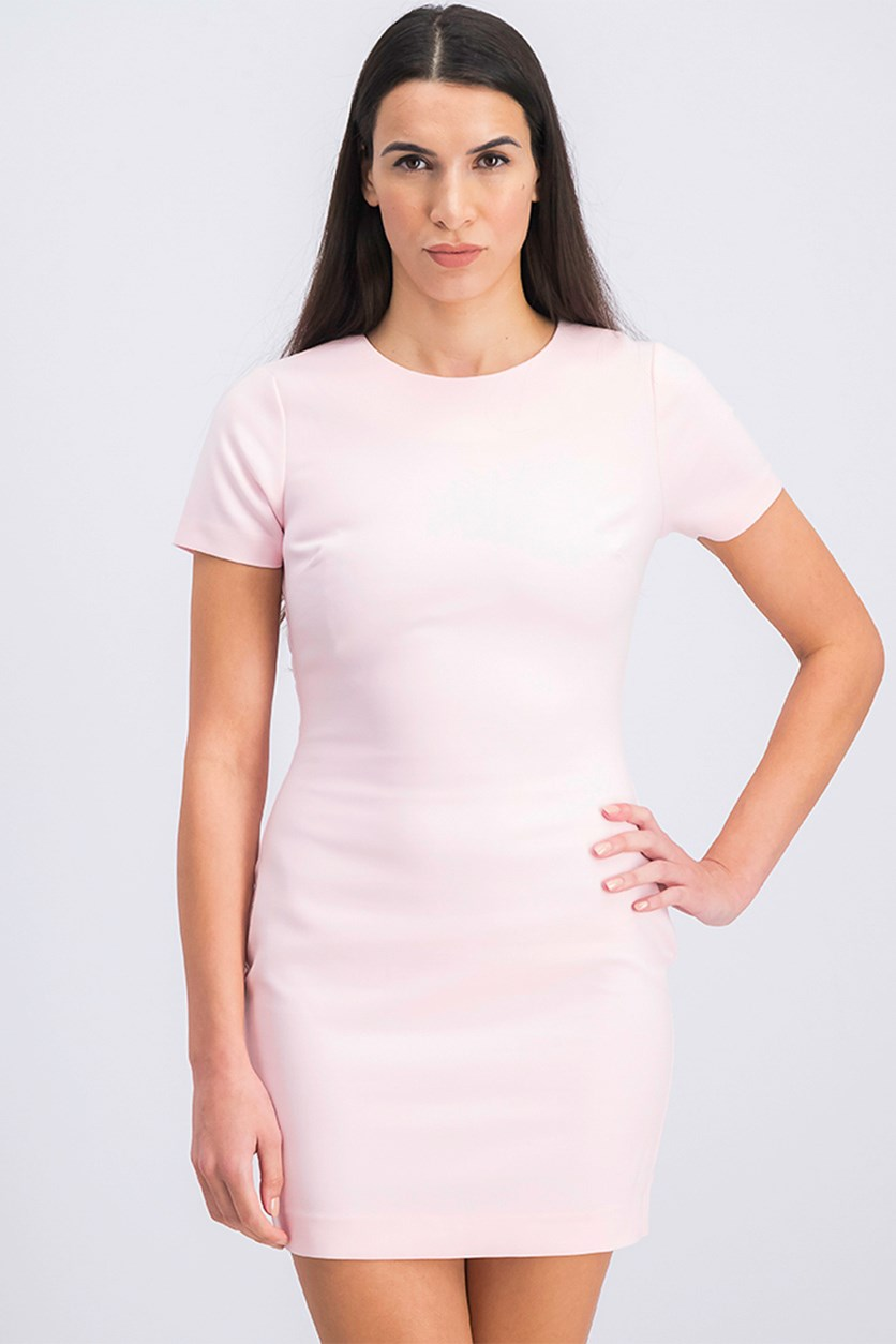 Manhattan Sheath Dress, Peach