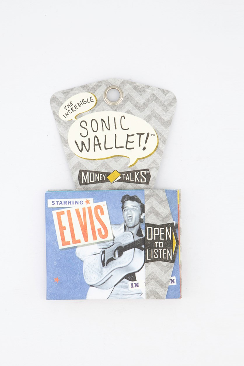 Incredible Sonic Money Talks Wallet, Blue/Grey Combo