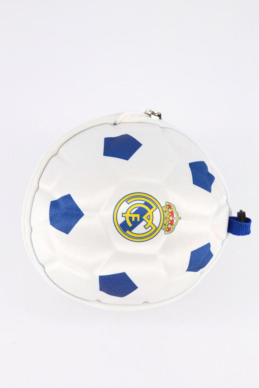 Soccer Ball HandBag, White/Blue