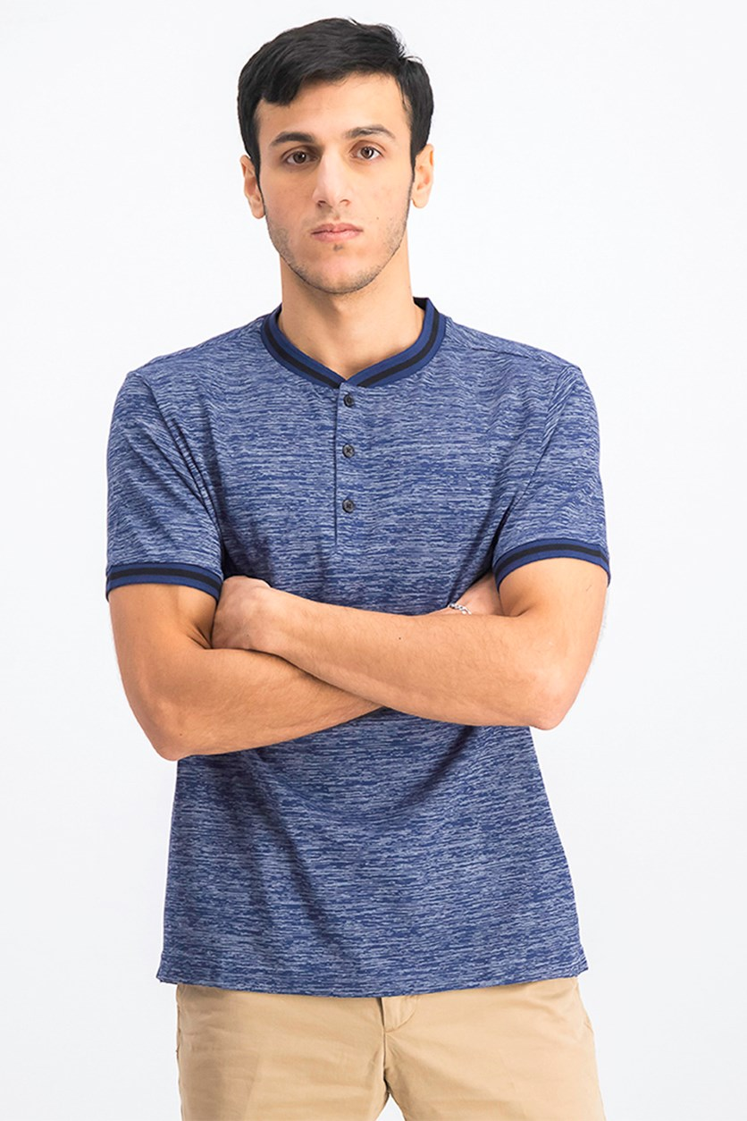 Men's Short Sleeve T-Shirt, Indigo
