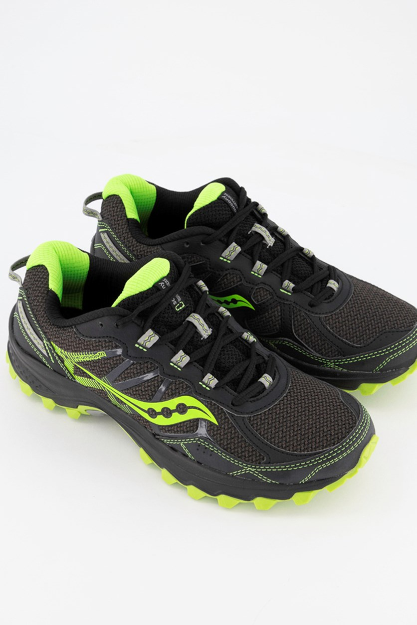 Men's Excursion TR11 Sneaker, Black/Lime