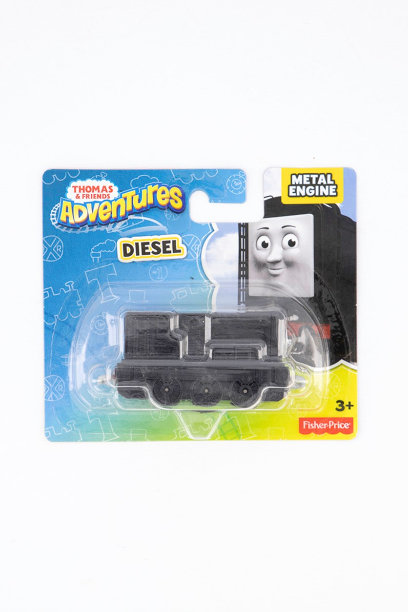 Thomas & Friends Adventures Diesel Talking Metal Engine, Black