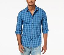 American Rag Men's Blake Check Shirt, Blue
