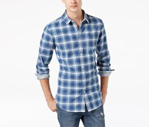 American Rag Men's Chase Plaid Shirt, Blue