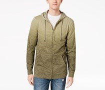 American Rag Cie Men's Ombre Full Zip Hoodie, Green Heather