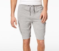 American Rag Men's Heathered Cargo Knit Shorts, Heather Grey