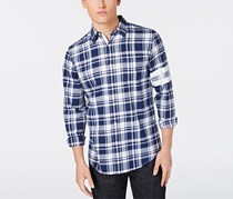 American Rag Solid Long-Sleeve Shirt, Arctic Night