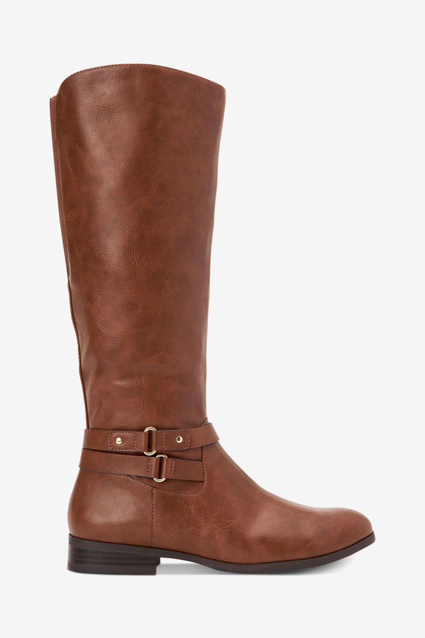 Women's Kindell Wide-Calf Tall Boots, Bourbon