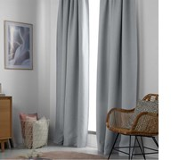 Black Out Curtain Set Of 2, Grey