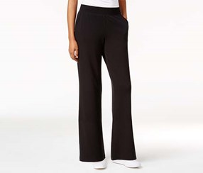 Style & Co. Petite Pull-On Pants, Black