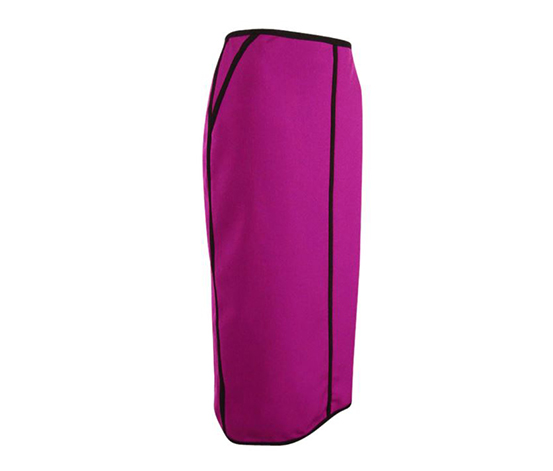 Kasper Women's Plus Straight Pencil Skirt, Purple/Black