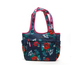 The Pioneer Woman Country Garden Lunch Tote, Navy Combo
