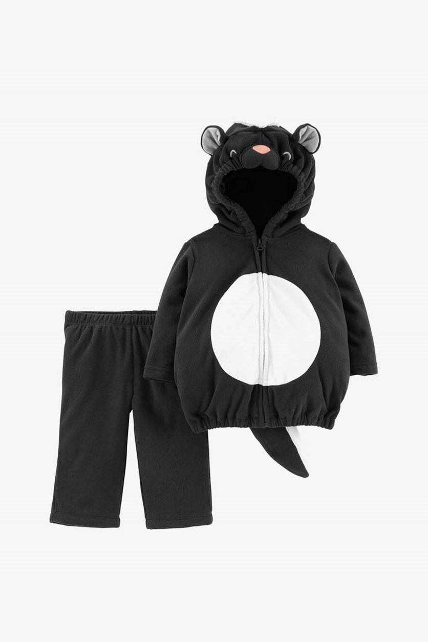 Toddlers 2-pc. Skunk Baby Costume, Black/White