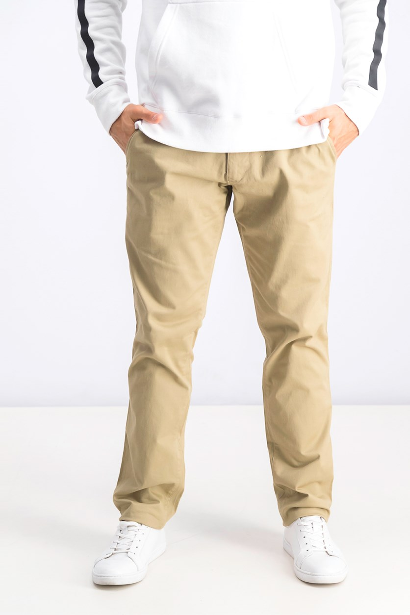Men's Slim Stretch Pants, Khaki