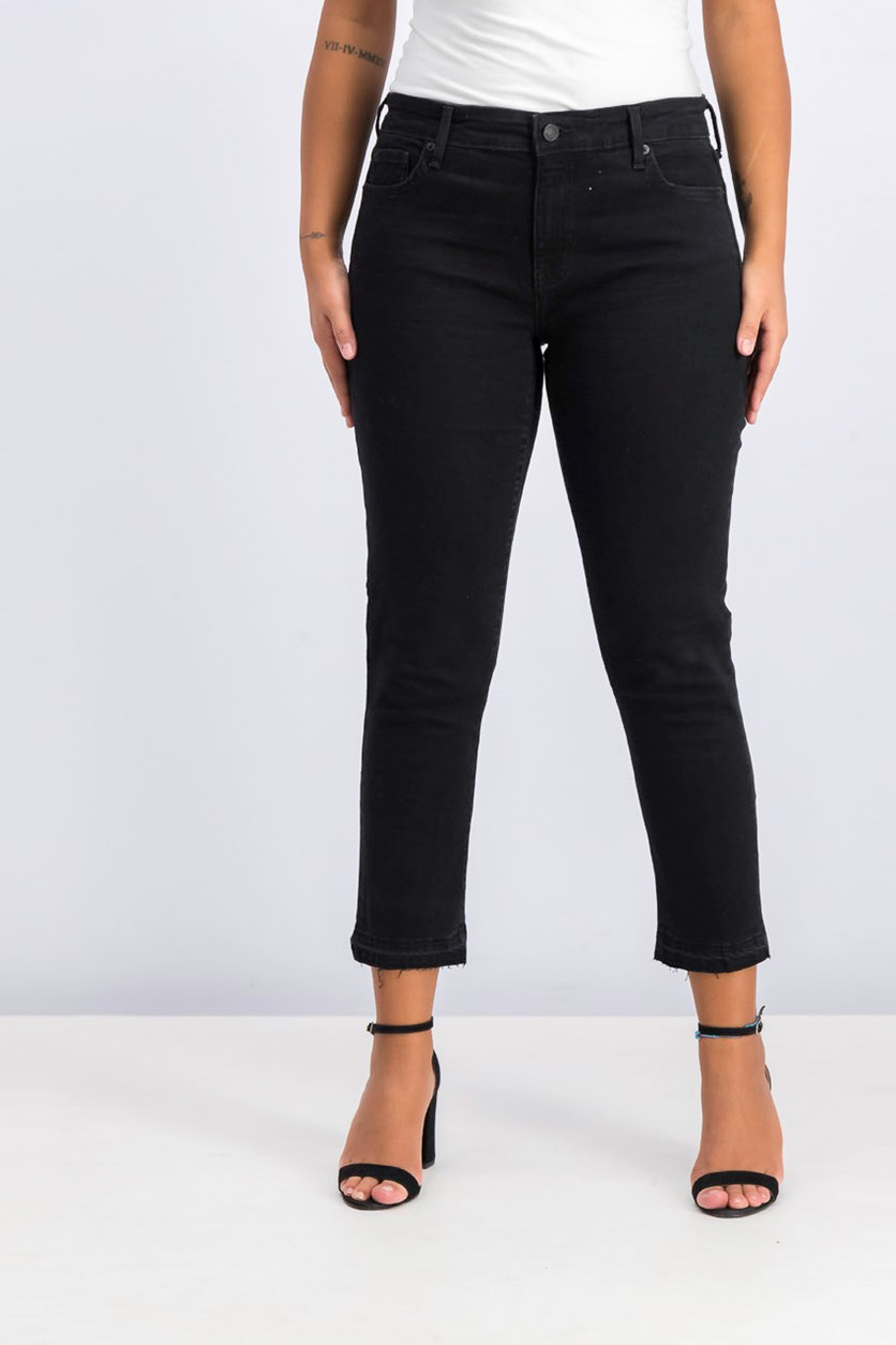 Women's Girlfriend 5 Pocket Style Jeans, Black