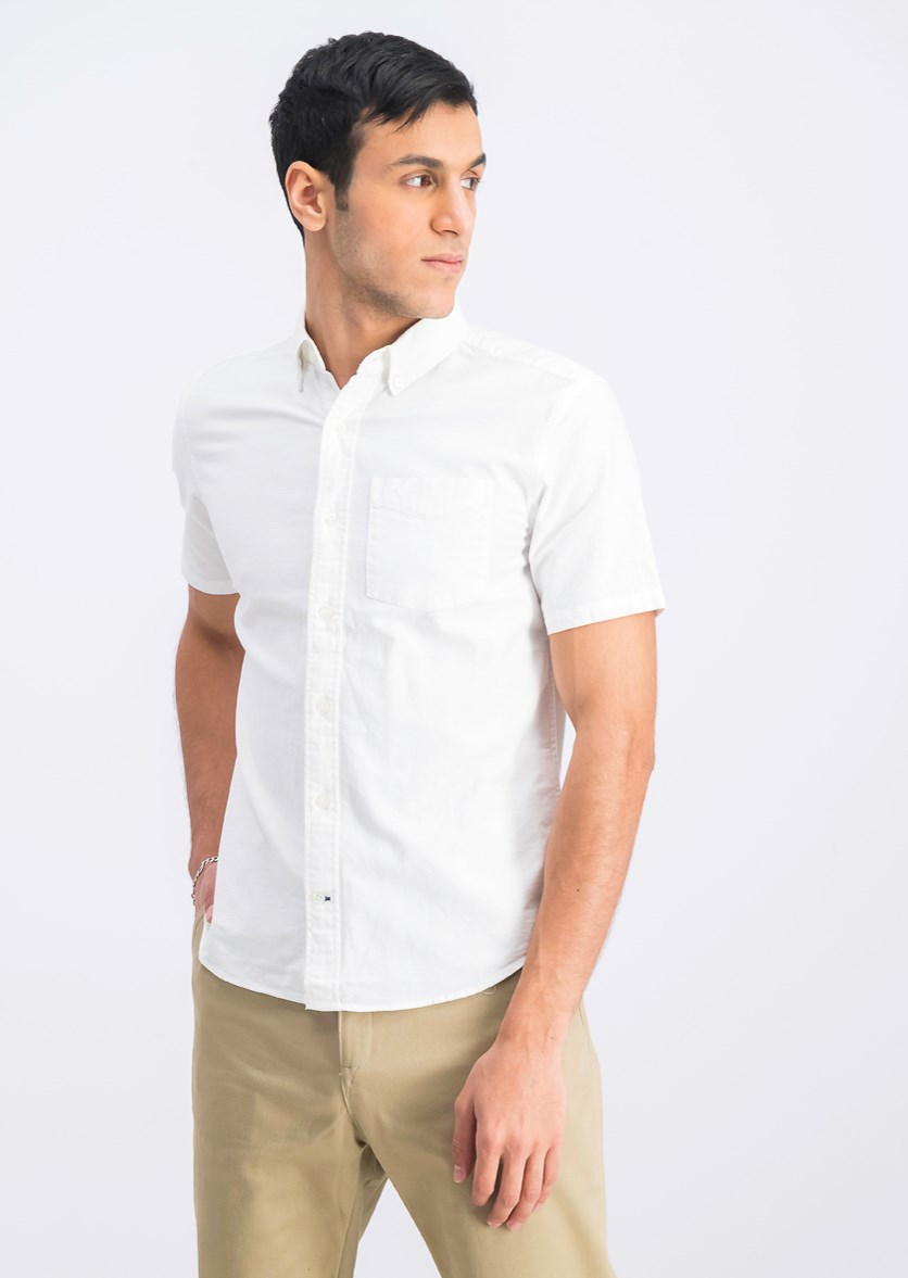 Men's Standard Fit Stretch Shirt, White