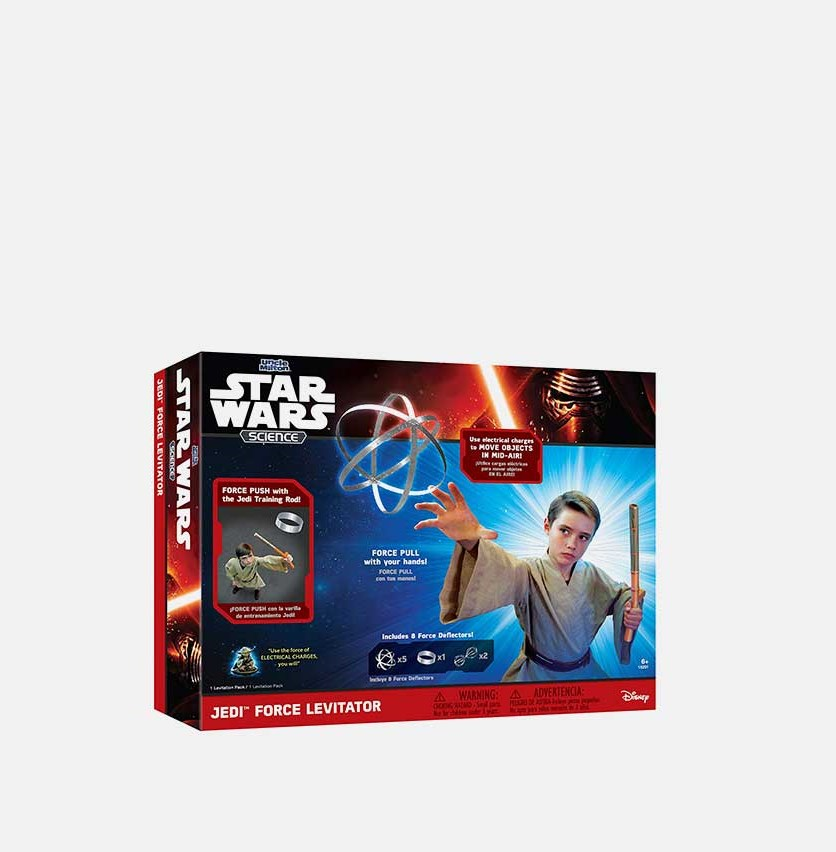 Jedi Force Levitator Star Wars Science, Blue/Red Combo