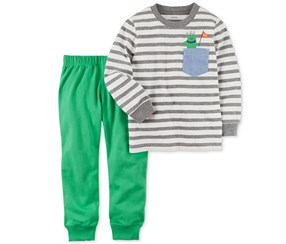 Carter's Baby Boy's 2-pc. Camouflage Pant Set, Green/Grey/White