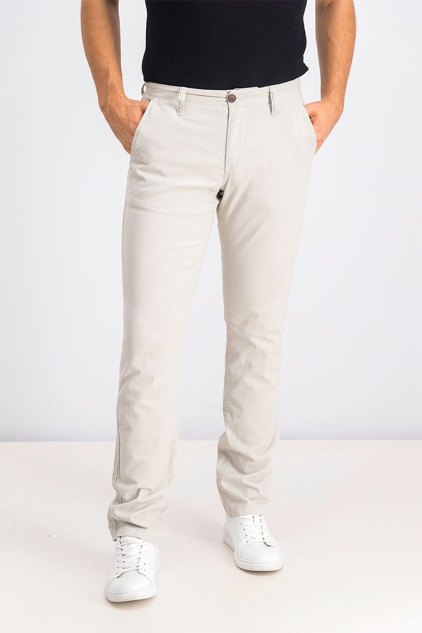 Men's Castleton Chino Pants, Silver Birch