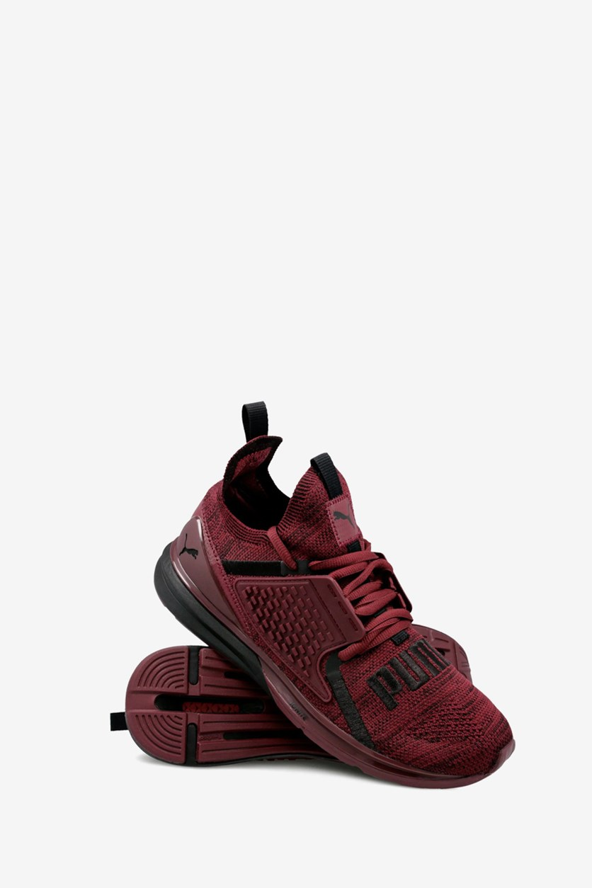 Men's Limitless 2  Evoknit Block Sneakers, Burgundy/Black