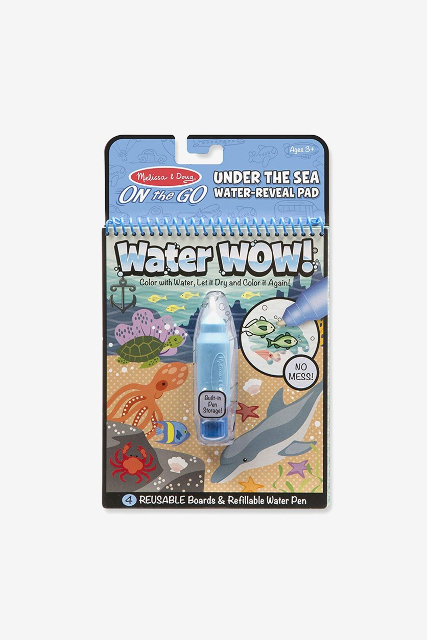 Water Wow! Under The Sea Activity Pad, Blue Combo
