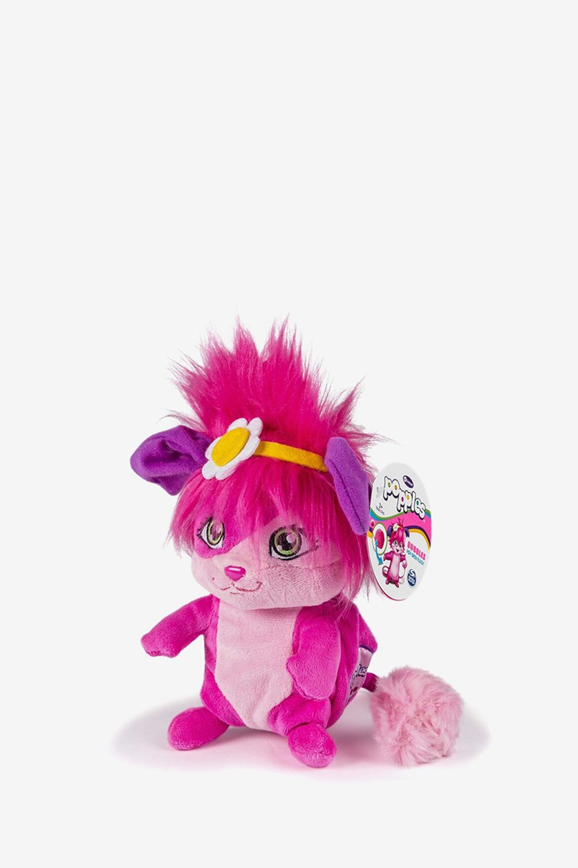 Bobbles Pop Open Plush Soft Toys, Pink