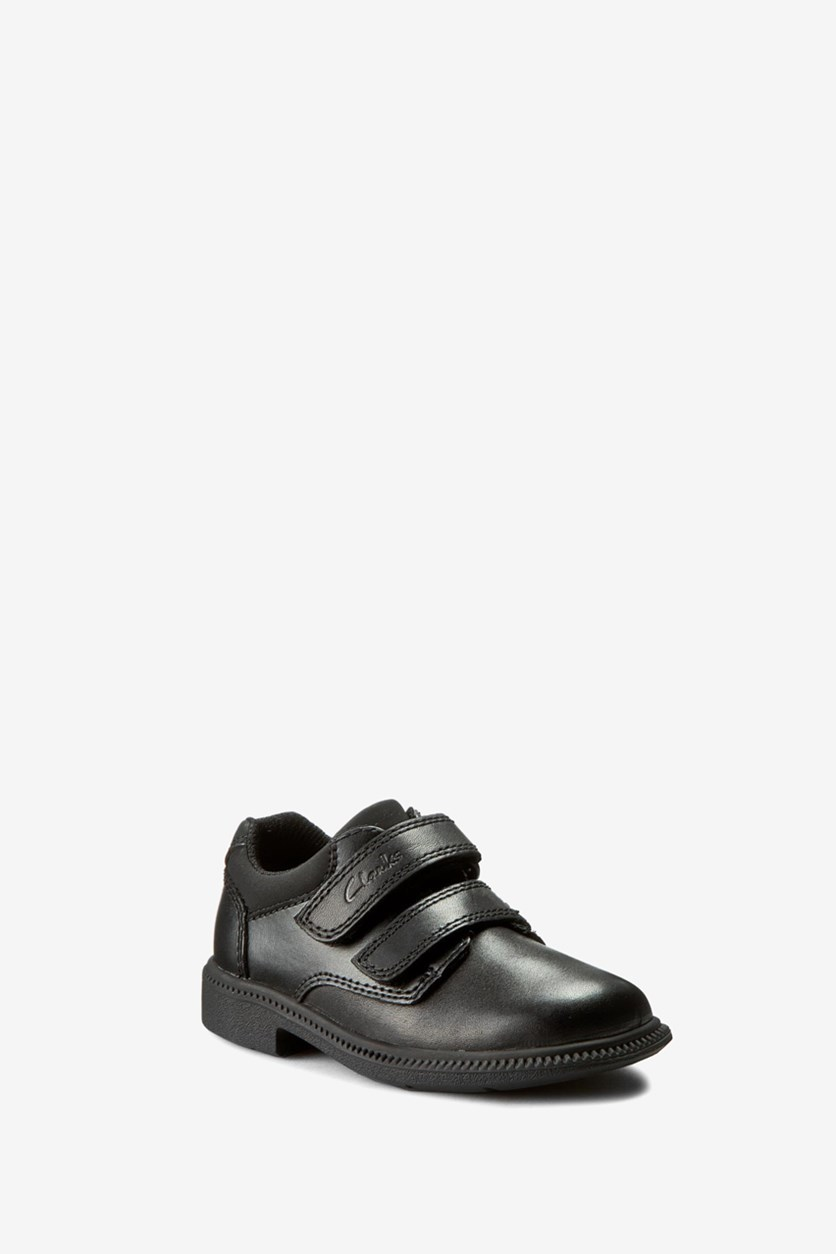 Toddlers Deaton Inf Shoes, Black Leather