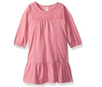The Children's Place Baby Girls' Solid Knit Dress, Pink