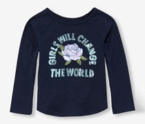 The Children's Place Girl's Top, Navy