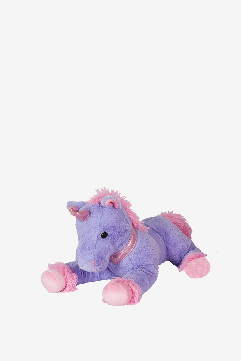 Unicorn Plush Toy, Purple/Pink