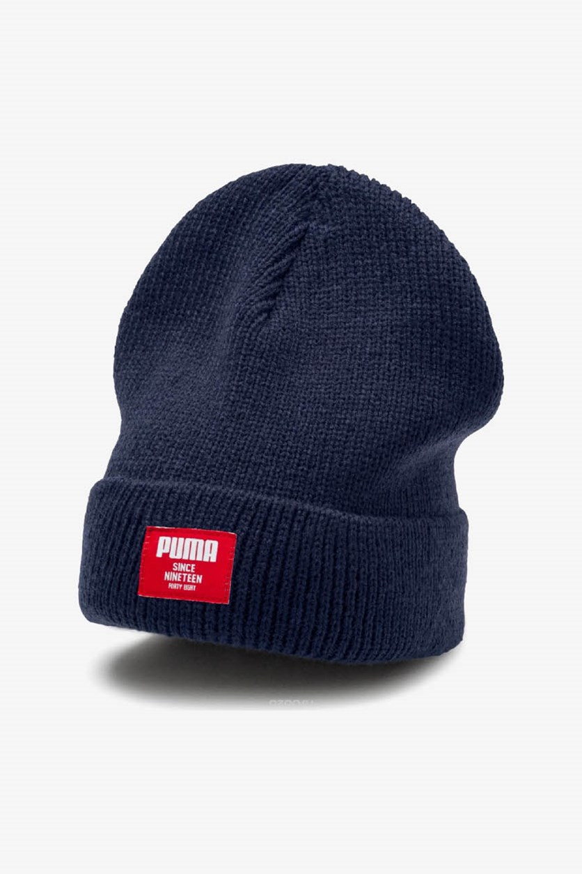 Men's Ribbed Classic Beanie Hat, Peacot