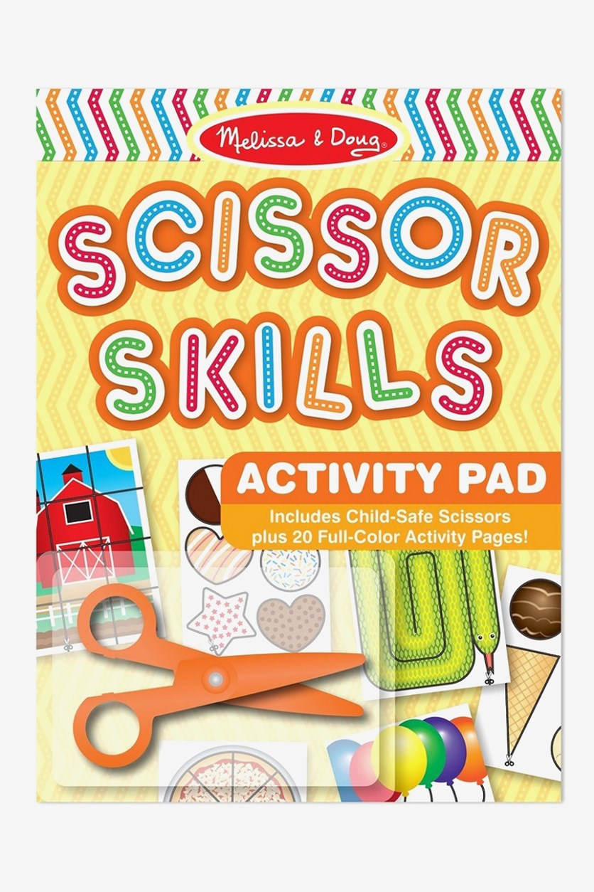 Scissor Skills Activity Pad, Yellow Combo