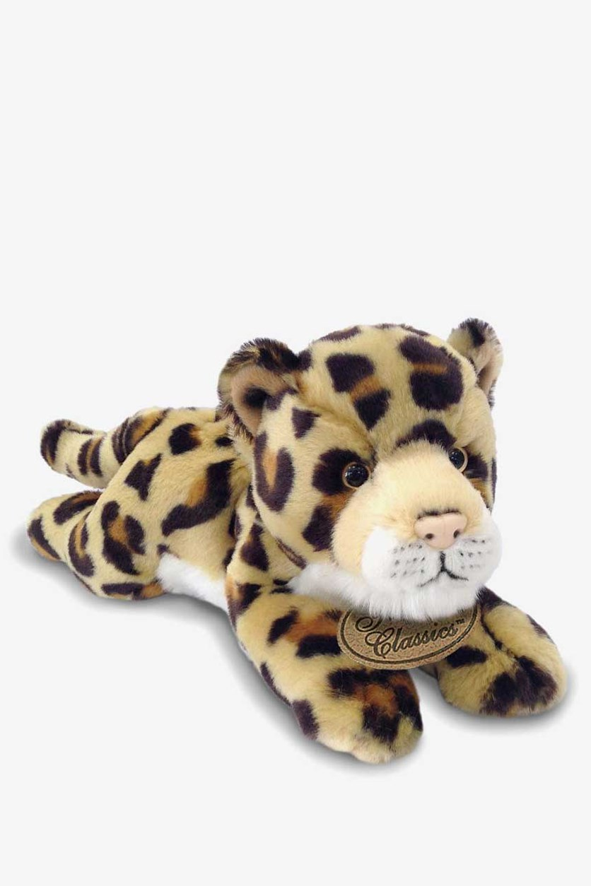 Yomiko Classics Medium Plush Animal Toys, Leopard