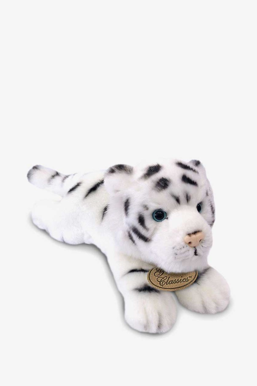Yomiko Classics Medium Plush Animal Toys, White Tiger