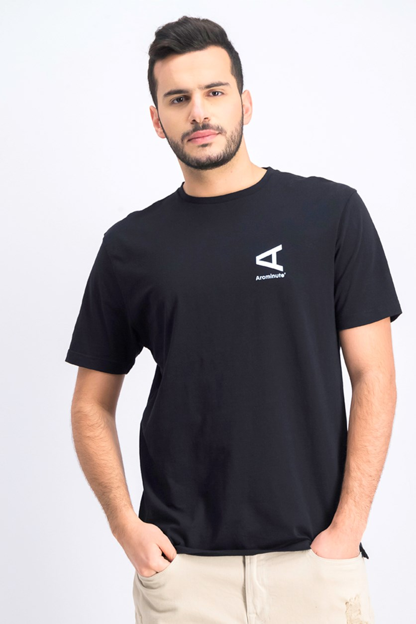 Men's Graphic T-Shirt, Black